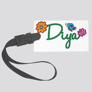 Diya Large Luggage Tag